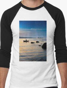 Gone fishing Men's Baseball ¾ T-Shirt