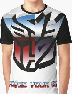 Transformers- Autobot/Decepticon Graphic T-Shirt