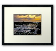 Sea Salts and Time Framed Print
