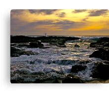 Sea Salts and Time Canvas Print