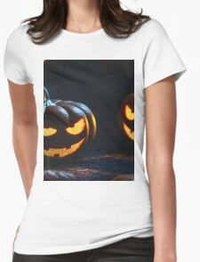 jack o lantern Womens Fitted T-Shirt
