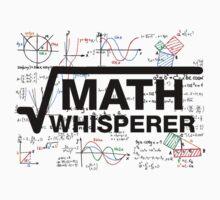 Math Whisperer Kids Tee
