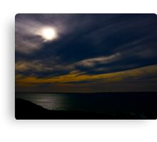 The Light at the End of the Earth Canvas Print