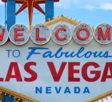 Welcome to Fabulous Las Vegas! Sticker