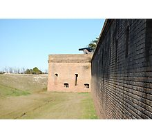 Just an Old Fort Photographic Print
