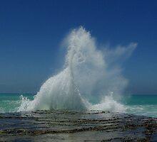 the big splash by Martina  Stoecker