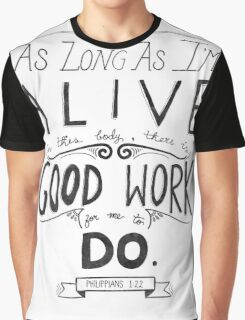 Good Works Graphic T-Shirt
