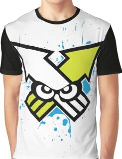 Splatoon - Turf War (Blue Splat) Graphic T-Shirt
