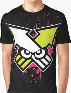 Splatoon - Turf War (Hot Pink Splat) Graphic T-Shirt