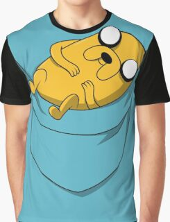 Pocket Jake the dog. Adventure time Graphic T-Shirt