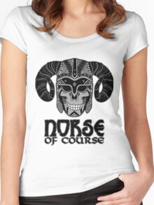 Norse of Course Women's Fitted Scoop T-Shirt