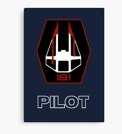 181st Fighter Group - Star Wars Veteran Series Canvas Print