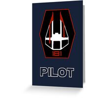 181st Fighter Group - Star Wars Veteran Series Greeting Card