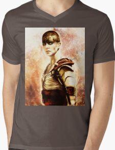 Mad Max : Fury Road - Furiosa Mens V-Neck T-Shirt