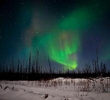 Jan.2nd Northern Lights by peaceofthenorth