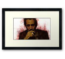 True Detective - Ray Velcoro Framed Print