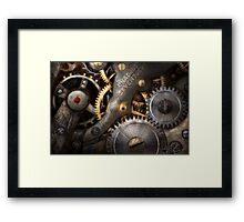Steampunk - Gears - Horology Framed Print