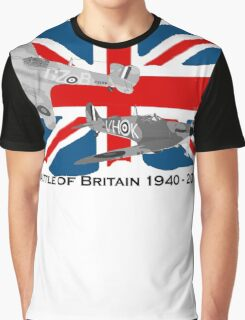 Battle of Britain 75th 1940 2015 Graphic T-Shirt