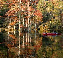 Beavers Bend Fisherman by Carolyn  Fletcher