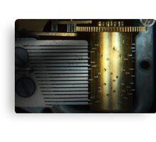 Steampunk - Gears - Music Machine Canvas Print
