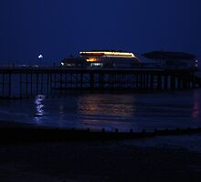 cromer pier at twilight by Penny Rumbelow