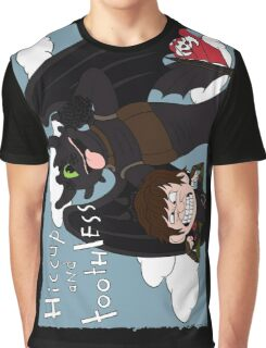 HICCUP & TOOTHLESS Graphic T-Shirt