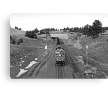 Staying on Track Canvas Print
