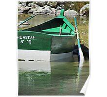 A Rowboat In Huaraz Poster