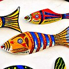 Painted fish, Obidos, Portugal by buttonpresser