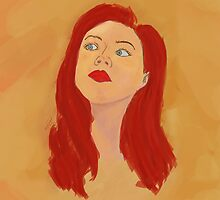 Amy Pond by iliketrees
