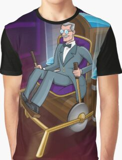 The Traveller Departs Graphic T-Shirt