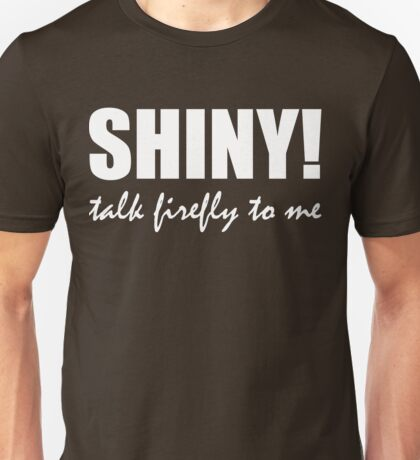 Talk Firefly To Me (Jayne) Unisex T-Shirt