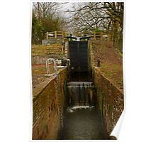 Canal Lock Poster