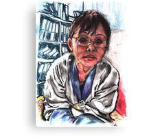 Meena Subba 4 Canvas Print