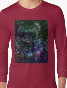 Terence McKenna Tribute Poster Long Sleeve T-Shirt