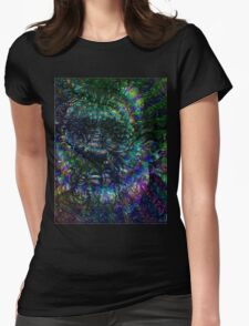 Terence McKenna Tribute Poster Womens Fitted T-Shirt
