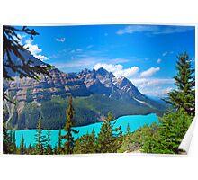 Peyto Lake, B.C. Canada Rocky Mountains Poster