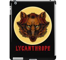 LYCANTHROPE (werewolf) with Full Moon iPad Case/Skin