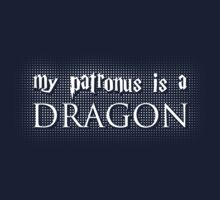 My Patronus is a Dragon Kids Tee