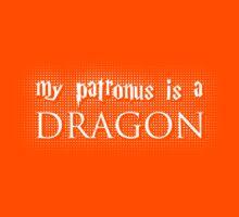 My Patronus is a Dragon Kids Clothes