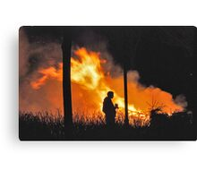Christmas is really over now...... Canvas Print