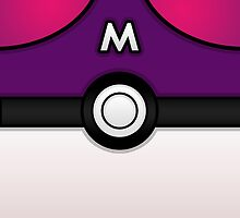Masterball iPhone Case ! by vxspitter