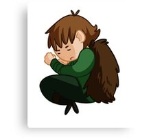 Sleepy Hiccup Canvas Print