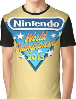 Nintendo World Championships 2015 Logo Graphic T-Shirt