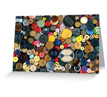 Sewing - Buttons - Bunch of Buttons Greeting Card