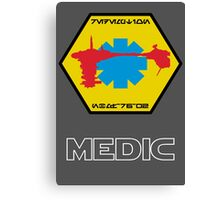 Medical Frigate Redemption - Star Wars Veteran Series Canvas Print