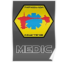 Medical Frigate Redemption - Star Wars Veteran Series Poster