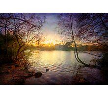 Across The Lake Photographic Print