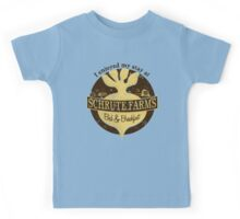 I enjoyed my stay at Schrute Farms (Brown) Kids Tee