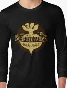 I enjoyed my stay at Schrute Farms (Brown) Long Sleeve T-Shirt